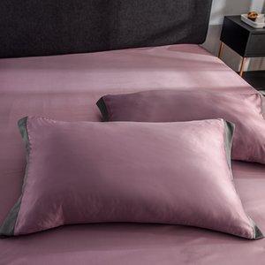LIV esthete 100٪ مجموعة الكتان سرير مزدوج غطاء سرير حريري لحاف الملك أغطية السرير ورقة السرير الحرير المنزلية مجموعة الملكة الفراش شقة الحب mguqt
