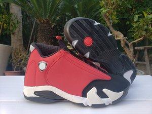 Venta al por mayor 2020 Nueva 14 XIV negro rojo de los hombres blancos zapatos de baloncesto de las mujeres deportes al aire libre 14S formadores zapatillas de deporte con tamaño de cuadro 7-13