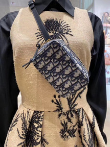 Бесплатная доставка горячие продажи подлинная телячья кожа поясная сумка ремень #6059Top качество дизайн женская сумка с кодом даты