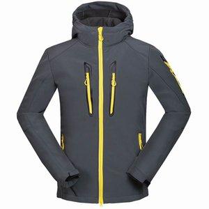 New Men Windproof Jacket Winter 1615 Shell Coats HELLY And Waterproof Soft Jacket Jackets Coat HANSEN Softshell For Hooded Alamk