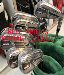 DHL Shipping Mens Golf clubes M-6 Golf Irons 10 tipos de grafite / aço do eixo Disponível real Pictures Contactar vendedor