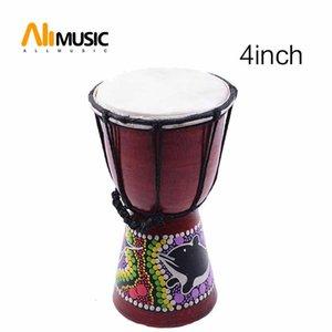 Африканский джембе 4 дюйма Ударные Ручной барабан для продажи, Деревянный Jambe / Doumbek Ударник