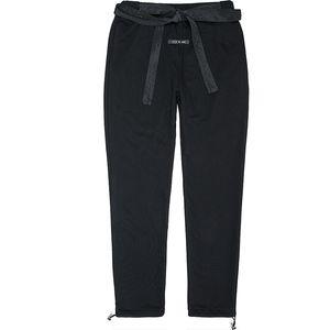top!! FOG Fear Of God 6TH 19SS High Street Sweatpants Vintage Color Fashion Sport Outdoor Black ribbon pants