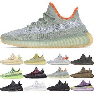 ssYEzZYYEzZYs v2 350boost Men Women Running Shoes Mens Kanye West Cinder Desert Sage Earth Marsh Tail Light Black Static Fas