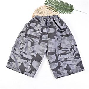Abbigliamento Camouflage estate del Mens Designer pantaloni di scarsità di Capris allentato coulisse Homme Abbigliamento Fashion Casuale Casual Male