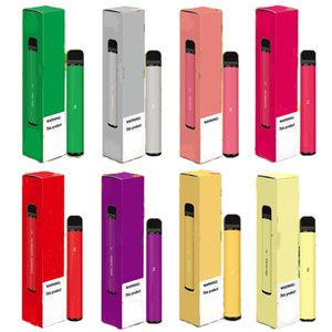 New arrival Puff Plus Disposable Device empty Pod Starter Kit Upgraded 550mAh Battery 3.2ml Cartridge Vape 8 color VS bidi disposable