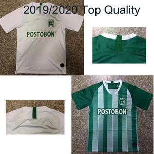 tailandesa qualidade Atlético Nacional Medellin Futebol Jersey MORENO TORRES RENTERIA Personalizar 2019 Casa Verde Longe Branco Camisa de Futebol Adulto
