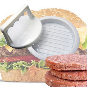 1 Set Round Shape Hamburger Press Food-Grade Plastic Hamburger Meat Beef Grill Burger Press Patty Maker Mold Mould Kitchen Tool