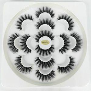 SEXY 7 paar verpackung Faux 3D Nerz Wimpern Natürliche Lange Falsche Wimpern Volumen Gefälschte Wimpern Make-Up Verlängerung Wimpern maquiagem mit 8 Arten