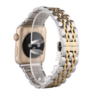 Stainless Steel Strap For Apple Watch 5 Band 44mm 40mm Iwatch Band 42mm 38mm Luxury Metal Watchband Bracelet 4 3 2 1