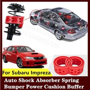 Для Subaru Impreza 2шт высококачественный передний или задний автомобильный амортизатор пружинный бампер мощность авто-буфера автомобильная подушка уретан