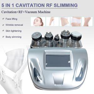 Fettabsaugung Ultraschall 40k Kavitation Fettverbrennung Biopolar RF Gesichtspflege Vakuum Körper abnehmen Maschine Salon verwenden