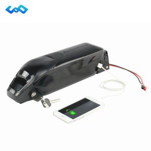 Cas de dauphin batterie e-bike 52V 14Ah Lithium Ion avec chargeur pour 1000W vélo électrique moteur