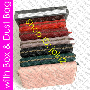 443123 WÖLBUNGS Hardware MARMONT ZIP AROUND WALLET Designer Damen Chevron Leder Zippy Wallet Key Card-Halter-Beutel Cle Geldbörse Pochette