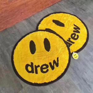 Arredamento per la casa Trendy Derw Casa Sorridere Carpet Circolare Originalità Originalità Bagno Porta Tappetino assorbente Tappetino da pavimento Tappeti da salotto
