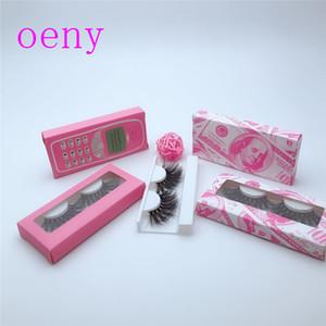 Блеск для хранения Marble Упаковка Magnetic Red Розовое сердце бумаги Lash Box Для Ресницы