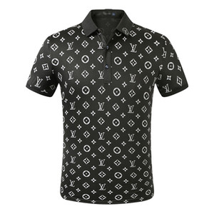Designer Polo Men Polo Casual Luxury Men Polo T Shirt Cobra Letter Bee Imprimir Bordados Moda High Street Mens Polos PoloS02 Casual