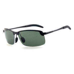 New Fashion Polarized Vintage Sun Glasses Semi-rimless Designer Sunglasses UV400 Lens Eyewear Oculos De Sol Masculino for Women