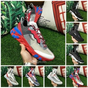 New Arrival Epic React Element 87 Undercover Men Running Shoes For Women Designer Sports Mens Trainer Shoes Sail Light Bone Sneakers 36-45