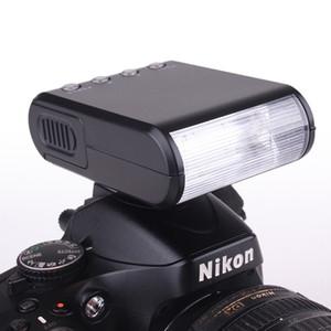 Portable Mini Digital Slave Flash Speedlite Flash with Universal Hot Shoe GN18 for Canon Nikon Pentax Sony