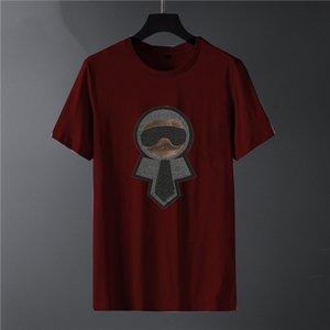 New 2020 Fashion Men's T-Shirt Summer O-Neck Mens Tshirts Short Sleeve Black White Mens Tops T Shirts top29
