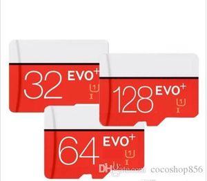 en son 128GB 64GB 32GB EVO PLUS microSDXC Micro SD UHS-I Satış sıcak kek Top gibi 2019 satmak Sınıf 10 Mobil Bellek Kartı