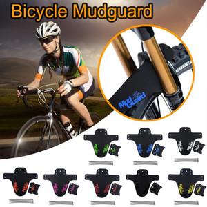 MTB Mudguard Bike Front Back Mud Guard Marsh Fender Slim Fork Simple Fender Rear Mudguard Front Rope Plastics