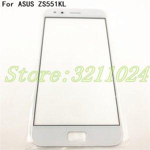 100% Originale Per Asus Zenfone 4 Pro ZS551KL Lente di vetro anteriore Touch Screen LCD Parte esterna del pannello di sostituzione