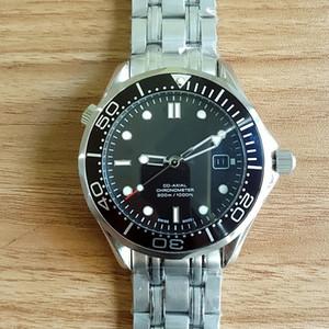 Высококачественные Профессиональные 300 м Джеймс Бонд 007 Часы Мастер Коаксиальный Автоматический Механизм Из Нержавеющей Ремешка Спортивные Мужские Часы Наручные Часы