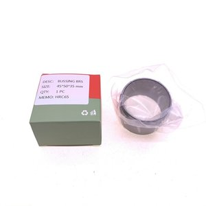 Free shipping 4pcs lot 50*65*8 oil seal 45*50*35 bushing shaft sleeve for air compressor