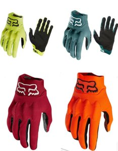 New FOX off-road racing motorcycle gloves outdoor sports cycling gloves full finger gloves