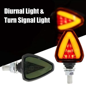 1 쌍 오토바이 액세서리 회전 신호등 표시 등 LED Day Day Running Lamp msx125 용 goldwing 1800 혼다 그림자 용