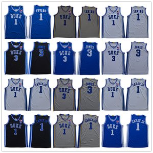 ncaa Duke Blue Devils basketball jerseys 3 Tre Jones 1 Vernon Carey Jr. Kevin Irving jersey any name number man S-3XL