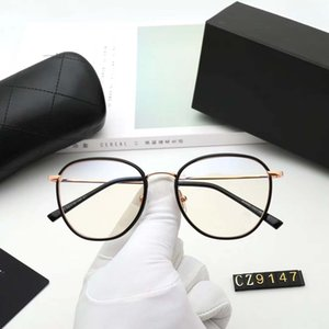 fashion Luxury evidence sunglasses retro vintage men 9159 designer shiny gold frame laser logo women top quality with package