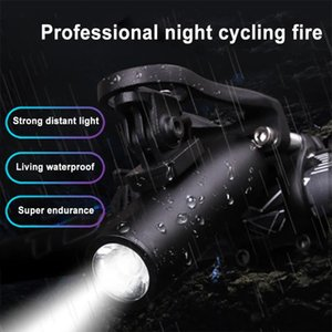 Bicycle Light USB Recharge Headlight Portable Waterproof Headlight Bicycle Light Accessories luz bicicleta