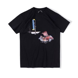 20ss Ins Hot Travis Scott Cactus Jack Don Toliver Heaven or Hell Tee Skateboard Mens designer t shirt Women Street Casual Tshirt
