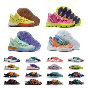 2020 أحذية الساخن بنين الاطفال Kyrie V 5 كل النجوم لكرة السلة التدريب ايرفينغ 5S الرجال الشباب للبنات للنساء تكبير الرياضة حذاء رياضة high الكاحل الحجم 36-40
