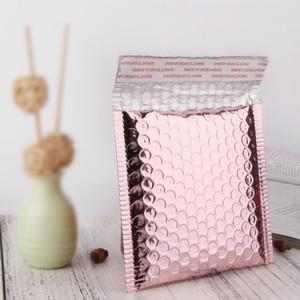 50pcs / lot Multi-Size Rose Gold Alumínio envio de mailing sacos impermeáveis expresso bolha Sacos para presente Embalagem Envelope