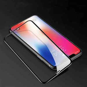 Full Screen ausgeglichenes Glas für IPhone 11 / 11Pro / 11 ProMax SE2 (2020) X / Xs XR XSMax 7P / 8P 7/8 Anti-Scrath HD Stoß- Screen Protector