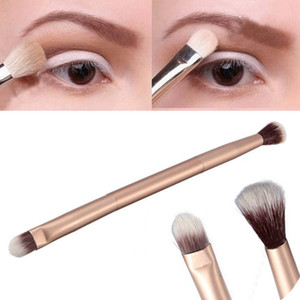 Augen Make-up Pinsel Double Ended Metallgriff Lidschatten Pinsel Concealer Highlight Lidschatten Pinsel Makeup Tools HHA1381