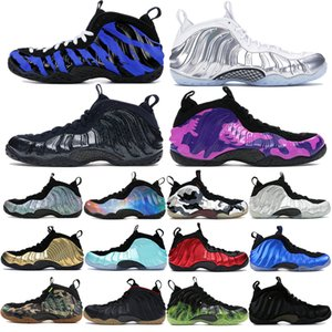 New Penny Hardaway Pro One Men Basketball shoes Obsidian Glitter Chrome White Foma running sneakers Memphis Sequoia vandalized Trainers