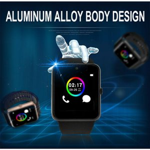 2020 New Waterproof Andriod Sport Intelligent Bluetooth Smart Wristwatch Bands GT08 With SIM Card Slot Healthy Smart Watch For Andriod Phone