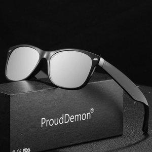 Vintage Круглый Frame солнцезащитные очки Мужчины Женщины поляризованные Классический Зеркало Sunglasses вождения Пользовательский логотип бренда Дизайнер UV400 pGVde