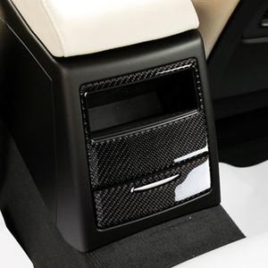 Fibre de carbone arrière de voiture Climatisation Panneau sortie Taille du châssis Décoration pour BMW Série 3 E90 320i 325i 2005-2012 Car Styling