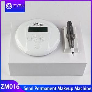Maquillaje semipermanente Cejas Delineador de ojos Delineador de labios MTS Artmex Máquina Máquina Derma Pen MTS Sistema de tatuaje con 5 unids Agujas