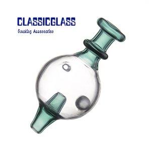 Стеклянный пузырь CARB CAP с бисером может вращаться в форме 25 мм кварцевыйang Banger Carb карб с отверстием