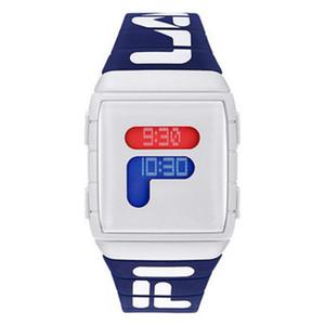 2020 marca de fábrica superior deporte de la manera al por mayor de relojes de pulsera de lujo Nuevos diseñador de los hombres para Hombre Mujeres LED Digital Tiempo Palabra regalo del reloj de cuarzo