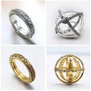 Bola del anillo astronómica de 2020 para el dedo Hombres Mujeres cósmico Anillo de par de amante regalos de la joyería Mujeres Accesorios UR0514