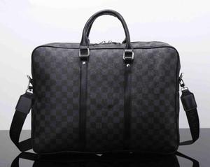 sacs hommes design de luxe ordinateurs portables crossbody sac porte-documents messager affaires bandoulière en cuir PU porte-documents pour sac à main homme de la marque de mode