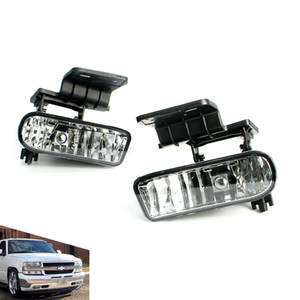 Fog light for Chevrolet CHEVY 99-02 Silverado 00-06 Suburban Tahoe Clear Lens Bumper Fog Lights Driving Lamps